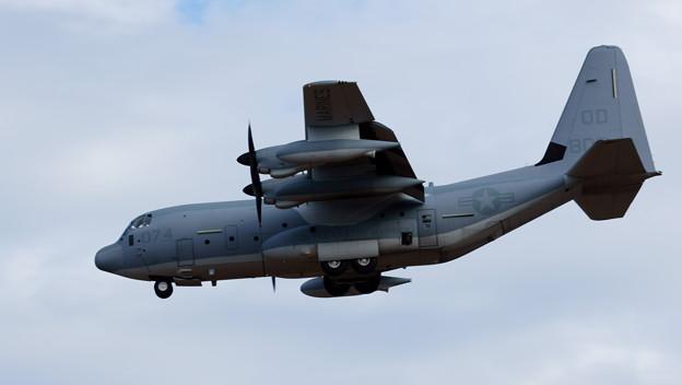 米海兵隊 C-130 Hercules QD8074