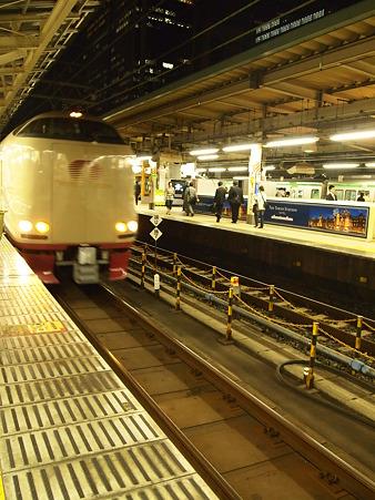 サンライズ瀬戸 in Tokyo Station