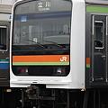 写真: 川越・八高線209系3000番台 ハエ63編成 立川表示