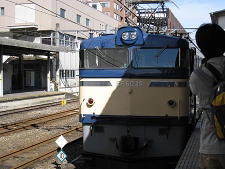 081012-高崎駅EL→SL入換 (2)