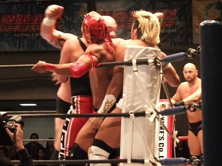 新日本プロレス CMLL 後楽園ホール 20110123 (22)