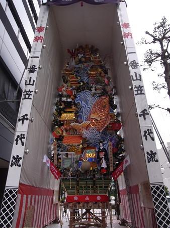 07 博多祇園山笠 飾り山 千代流 2012年 大当十日恵比須(おおあたりとおかえべす)写真画像