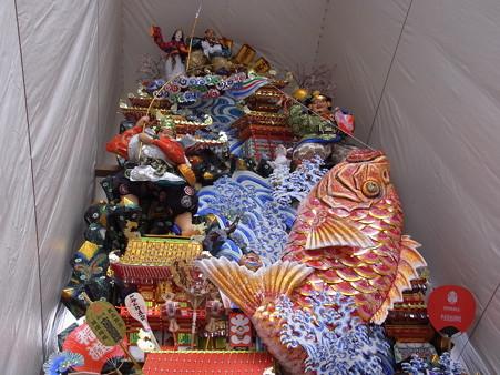 07 博多祇園山笠 飾り山 千代流 2012年 大当十日恵比須(おおあたりとおかえべす)写真画像6