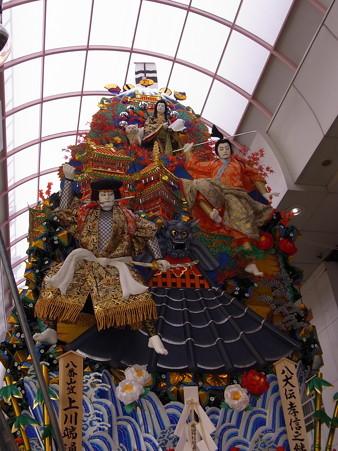 15 博多祇園山笠 走る飾り山 八犬伝孝信之絆(はっけんでんこうしんのきずな)2012年 写真画像4
