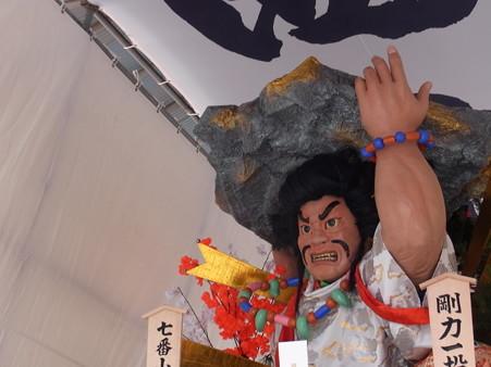 36 博多祇園山笠 西流 舁き山 剛力一投破漆黒(ごうりきいっとうしっこくをやぶる)2012年 写真画像10