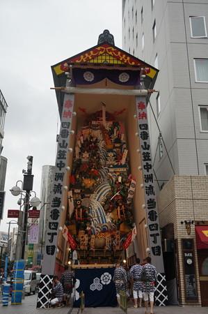 04 2014年 博多祇園山笠 飾り山笠 賤ヶ岳之戦壽 中洲流 (4)