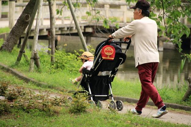 合浦公園・乳母車で散歩01-12.07.04