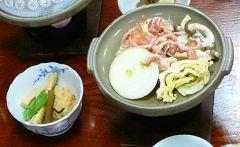 タケノコ煮付け 豚肉の
