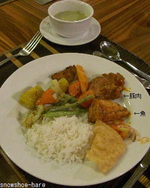 アマヤレイクの夕食ビュッフェ