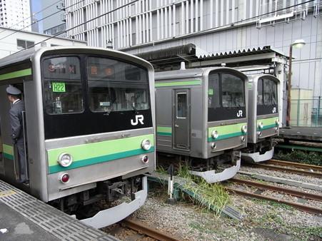 205系横浜線3ショット(橋本駅)2