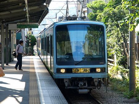 由比ヶ浜駅10