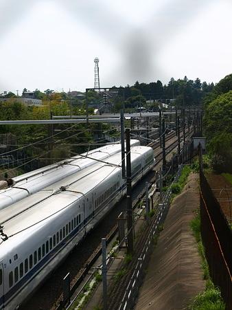 300系と700系(新横浜→小田原間)