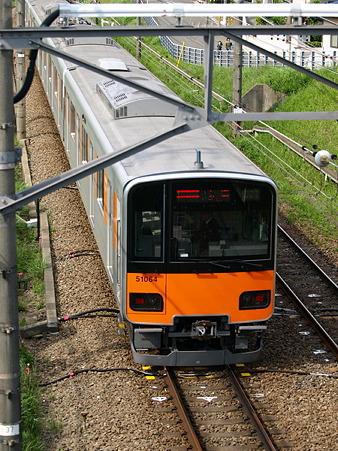 東武50000系(つくし野駅付近)3