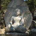 Photos: 如来坐像~韓国慶州  Seated Buddha on the mountainside