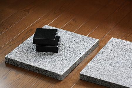 2011.11.08 家 雨遊び 石×4枚