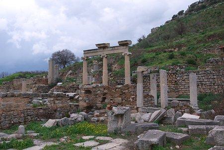 2011.01.23 トルコ 古代都市エフェス 市公会堂