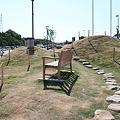写真: 小高い丘