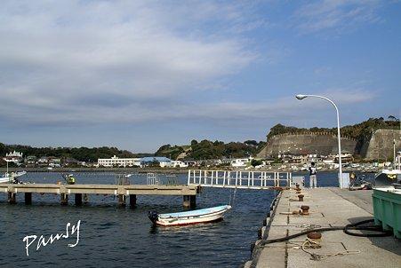 漁港の風景・・