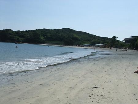穴場な海水浴場