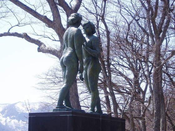 十和田湖乙女の像