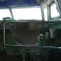 写真: 0系の乗務員室