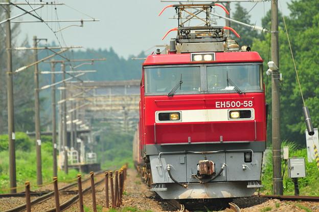 Photos: EH500 58号機