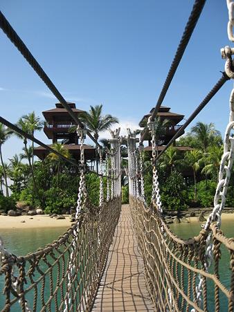 20101231 バラワンビーチ 吊橋