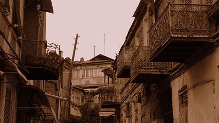 グルジア トビリシの旧市街
