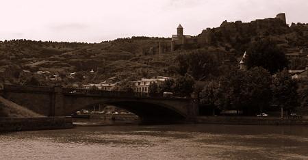 グルジア トビリシの街