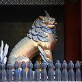 写真: 東照宮狛犬