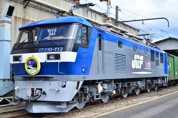 検査明けEF210-113号機