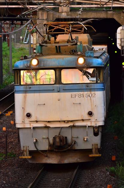 縦アン EF81 502号機