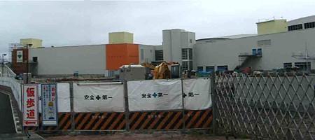 ピエリ守山 2008年9月11日 開業予定で建設中-200625-1