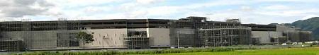 イオンモール草津(仮称)2008年冬 開業予定で建設中-200817-1