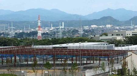 カワチ薬品浜北店 2008年秋オープン予定で建設中−1