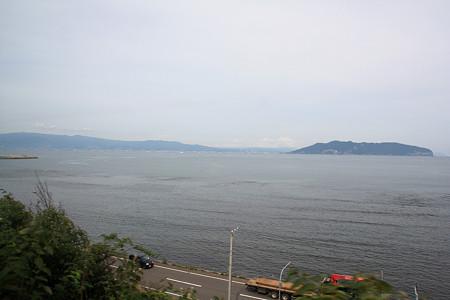 函館山が見えてきました