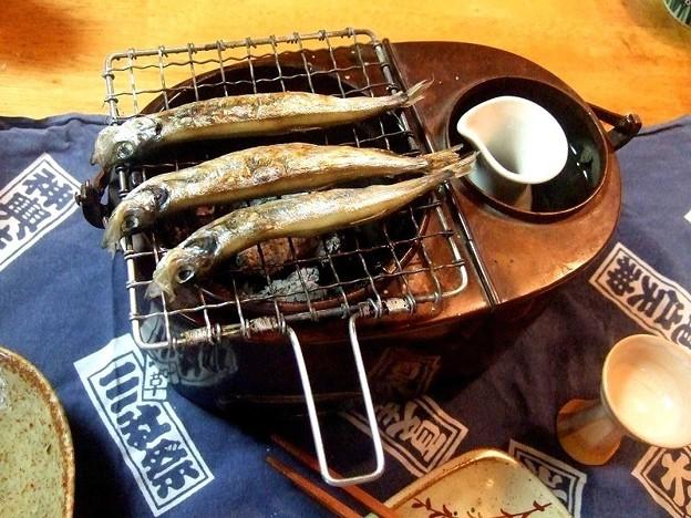 燗銅壺 飛龍号 試験運転 Sake warmer