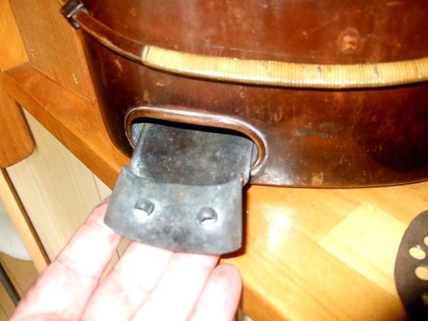 燗銅壺 吸気調整器