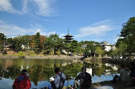 奈良公園2011秋-07