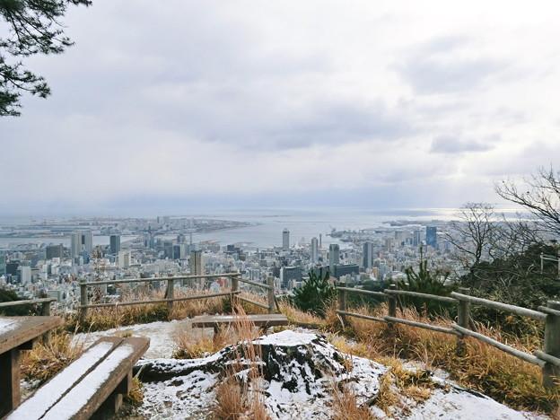 市章山からの眺め