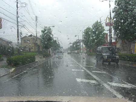 突如大雨が(^^ゞ