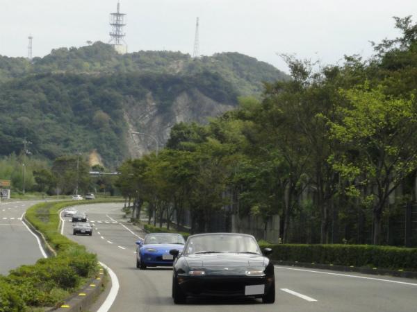 車間距離が比較的広めの四国ミーティング?
