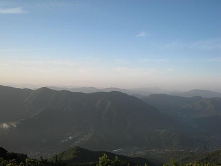 白木山山頂からほ景色