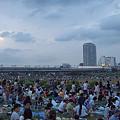 写真: 多摩川花火大会 01