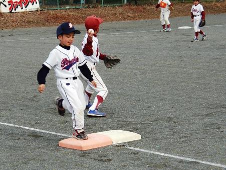 アウトになっても必ず1塁まで全力